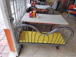 Sillas Y Mesas Restaurantes O Asaderos