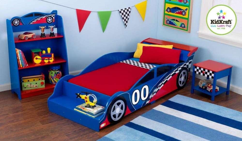 hermosa cama formulo uno