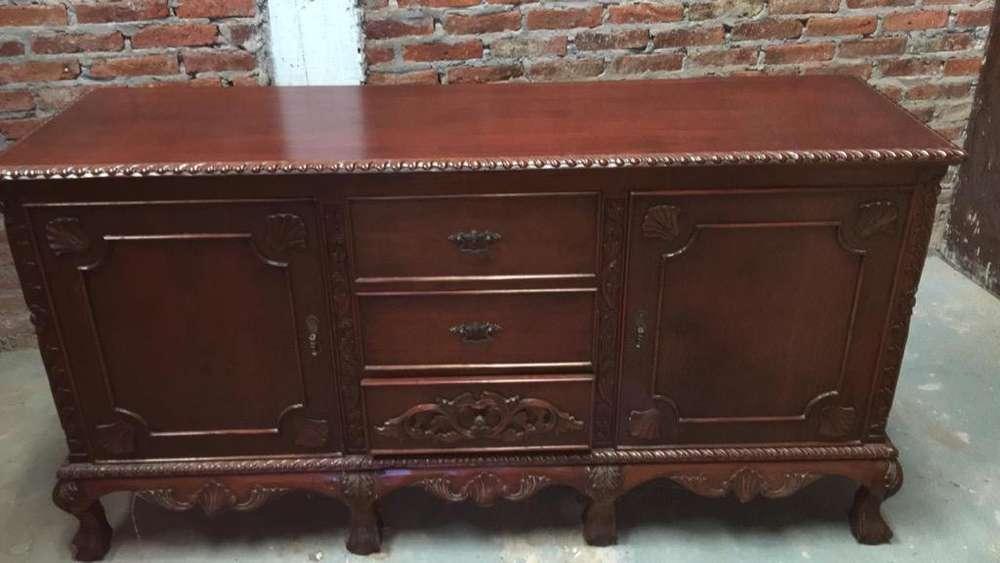 Mueble Antiguo Estilo Frances