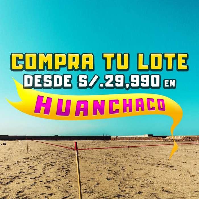!!SEPARA TU LOTE CON S/.300!! DE 250 M2 EN HUANCHACO, FINANCIADO HASTA EN 36 CUOTAS!!!