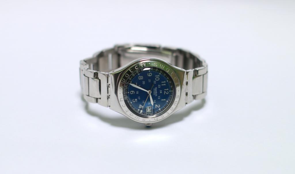 Happy Reloj Lima Blue Codigo Swatch Joe IHDYEW29
