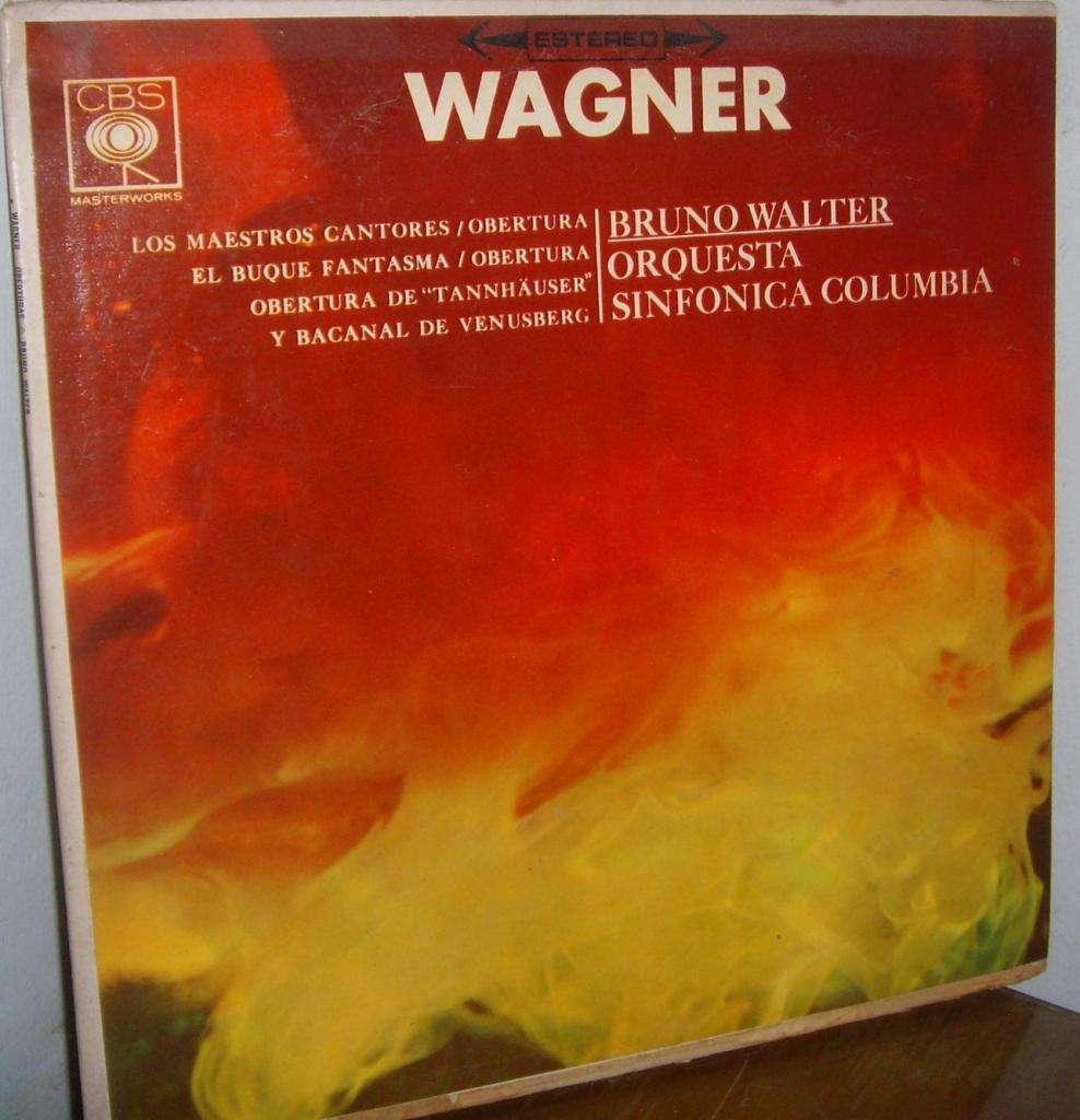 Disco De Vinilo L P Wagner Orquesta Sinfónica De Columbia