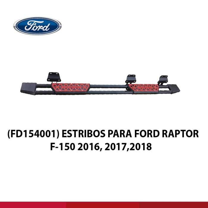 ESTRIBOS PARA FORD RAPTOR