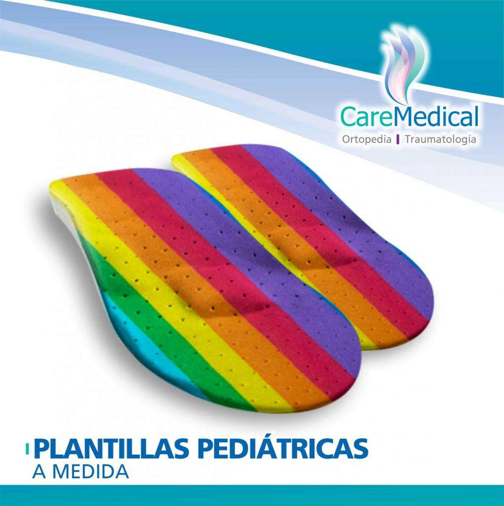 Plantillas Ortopedicas Pediátricas a Medida  Ortopedia Care Medical