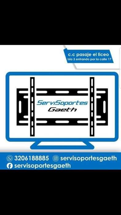 Bases Y Soportes Tv desde 25.000en Pasto