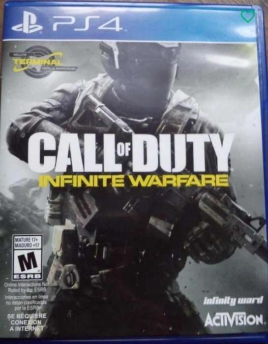 Call Od Duty Infinite Warfare Ps4.