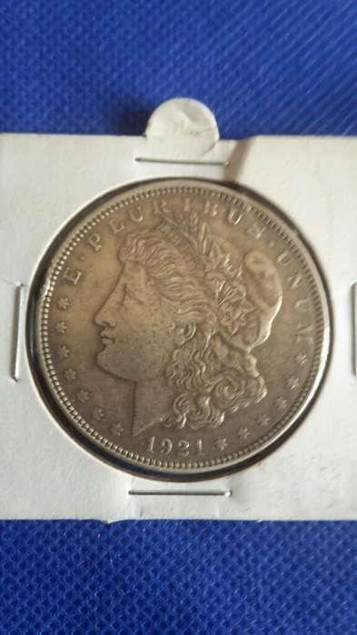 Moneda de Plata Eeuu 1921