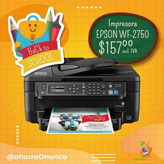 IMPRESORA EPSON WF- 2750
