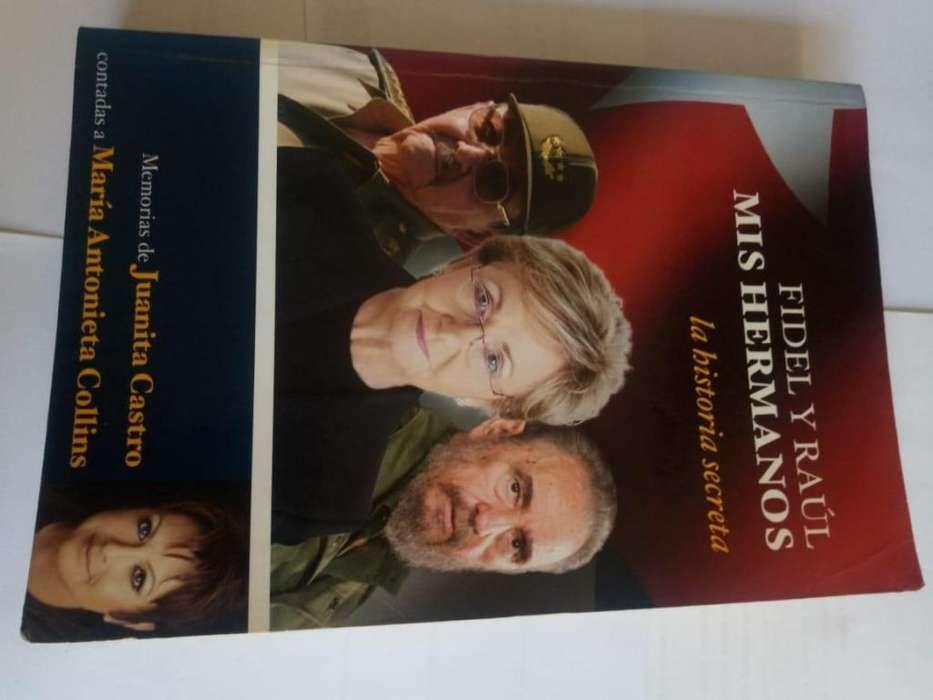Libro Fidel Y Raúl: Mis Hermanos