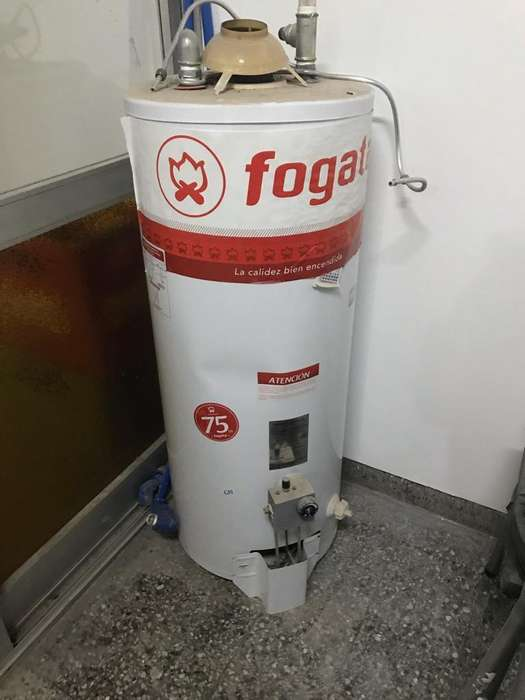 Termotanque a gas Fogata 75 Lts