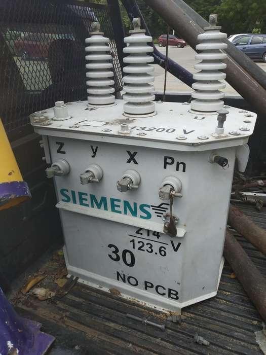 Vendo Transformador de 30 Kva