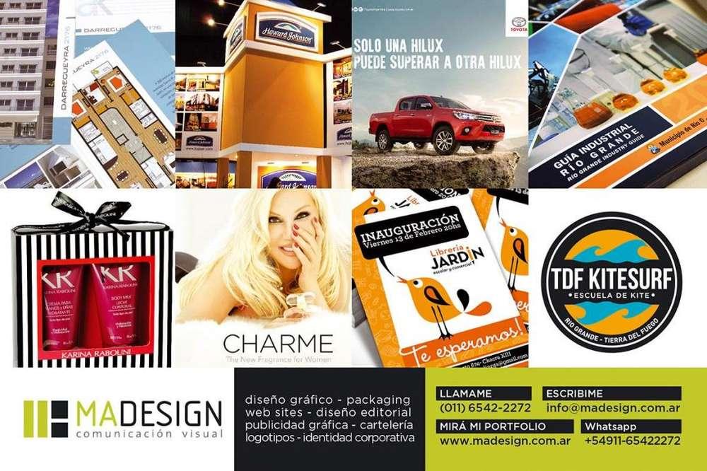 Servicios de Diseño Gráfico y Comunicación Visual .::MAdesign::.