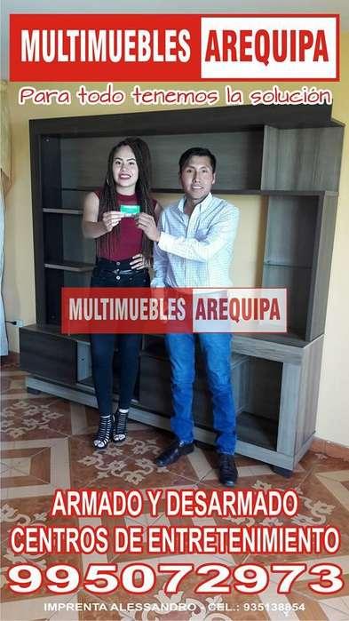 DESARMADO Y ARMADO DE MUEBLES 969249337 RACK ALACENAS ENTRETENIMIENTOS SAGA RIPLEY SODMAC PROMART