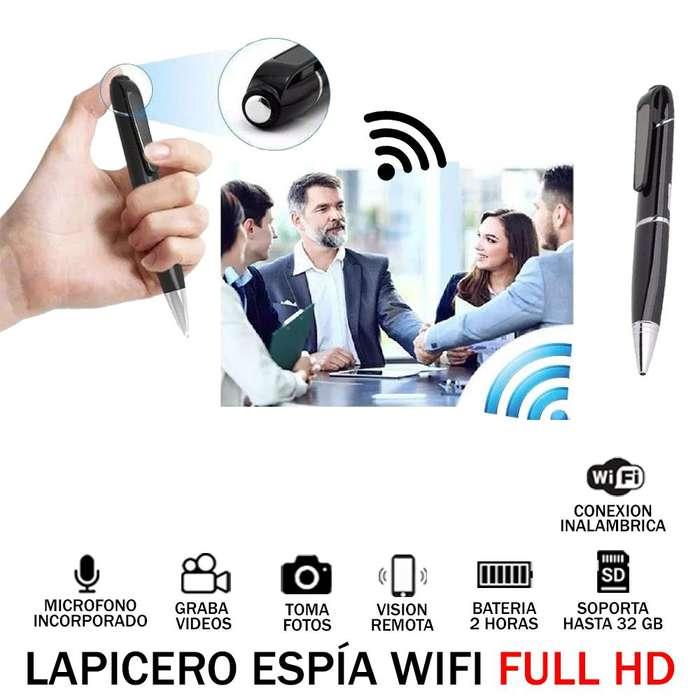 Lapicero Espia Full HD wifi Micro Camara Oculta