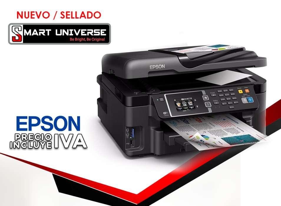 <strong>impresora</strong> Multifuncional Epson L1455 Tinta Continua A3 Mfp Adf Duplex Wifi