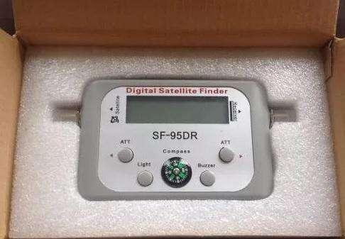 Satfinder Digital sat finder Buscador señal Satelital