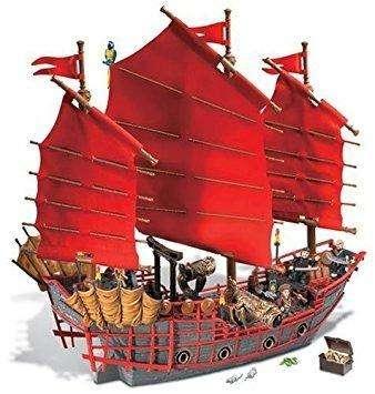 Mega Bloks Pirates Of The Caribbean 3 Barco Deluxe: Empress