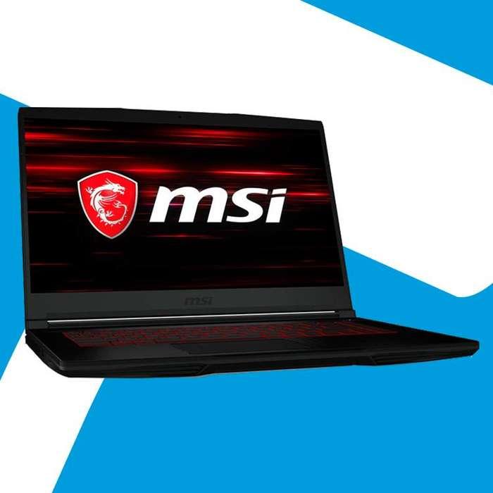 Acp - Portatil Gaming Msi GF63 I7 8va Gtx1050 4gb