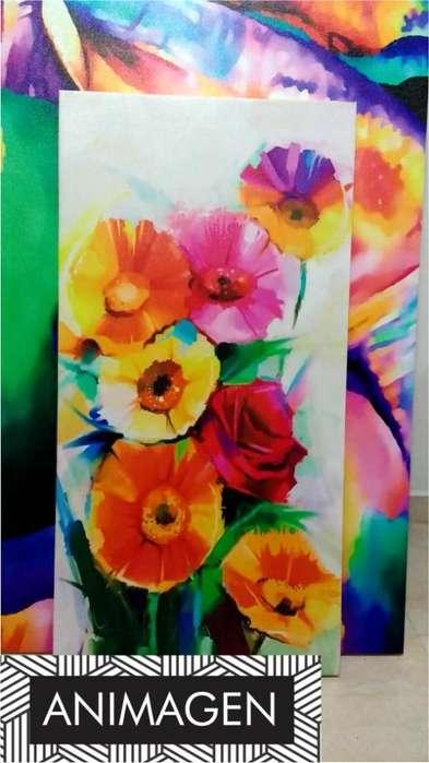 Hermoso cuadro de flores 2186