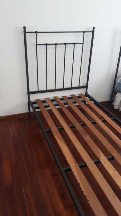 Vendo <strong>cama</strong>s de Una Plaza de Hierro