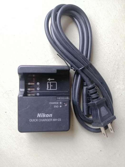 CARGADOR DE <strong>bateria</strong> MH23 ORIGINAL para NIKON Enel9 En El9 D60 D40 D3000 D5000
