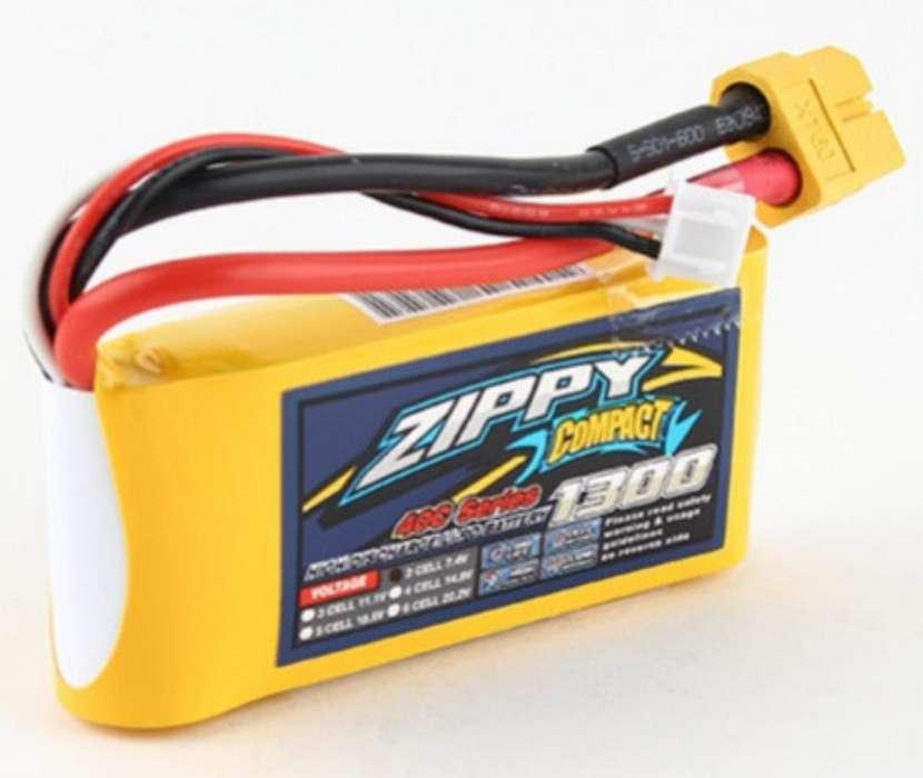 Batería Lipo 2s 7.4v 1300mah Rc