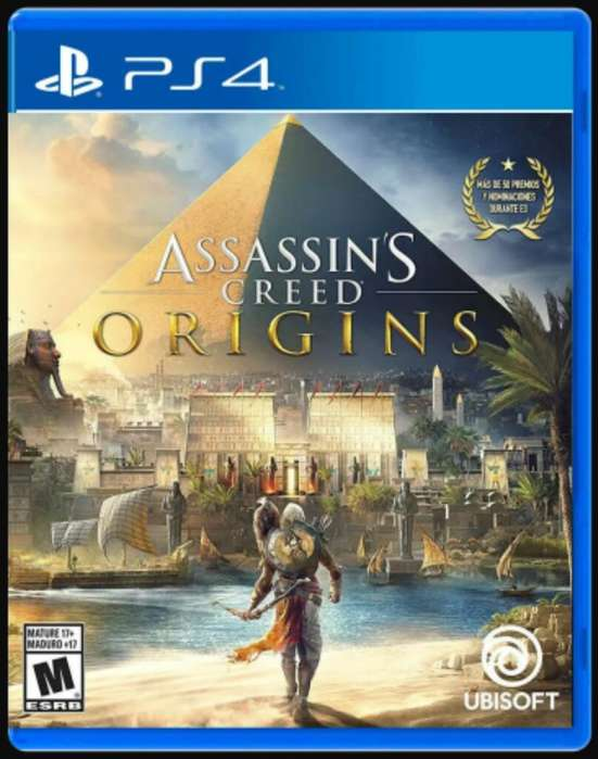 Assasins Creed Origins Ps4 Fisico Nuevo