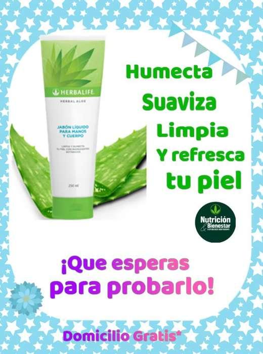 Jabón Líquido para Manos Y Cuerpo Herbal