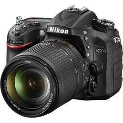 NIKON D7200 kit 18 140 VR Nuevas garantia