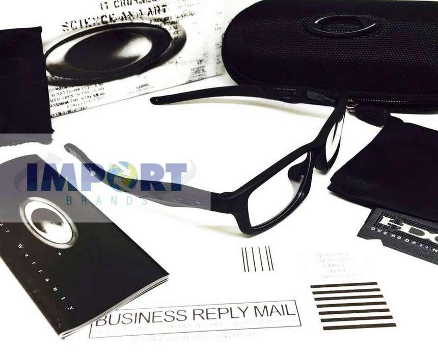gafas monturas oakley crosslink patas removibles optico