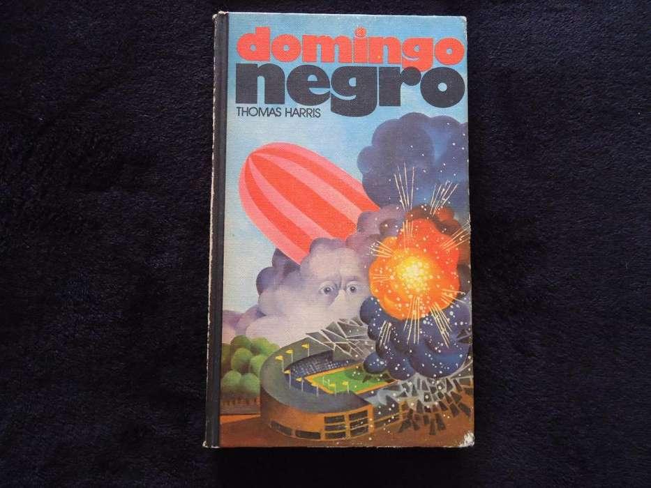 Libro Domingo Negro Thomas Harris Círculo de Lectoresx
