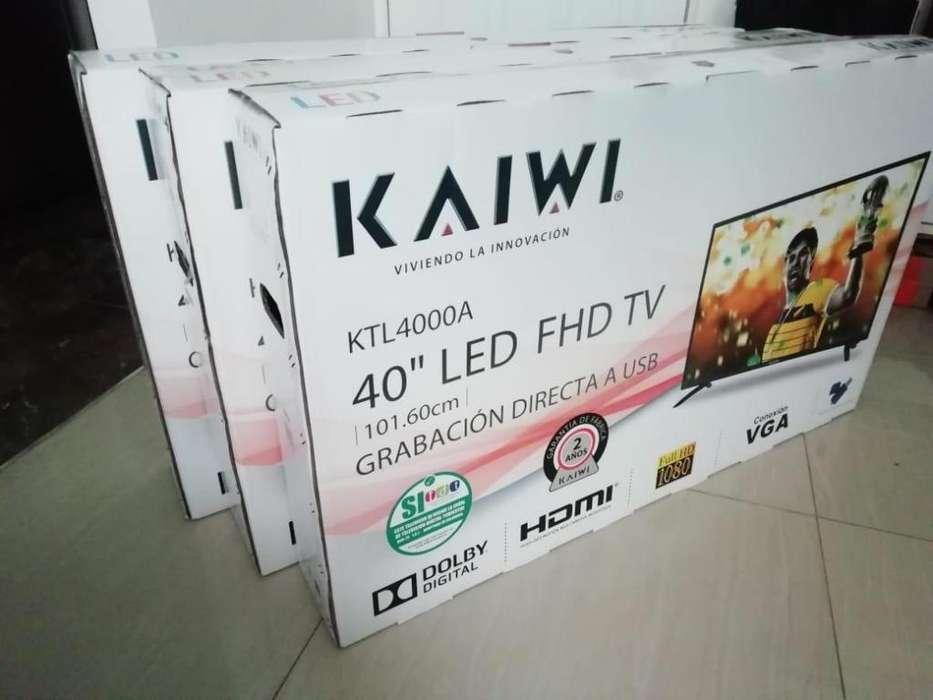 """<strong>televisor</strong>es KAIWI LED 40"""" Full HD nuevos con garantía"""