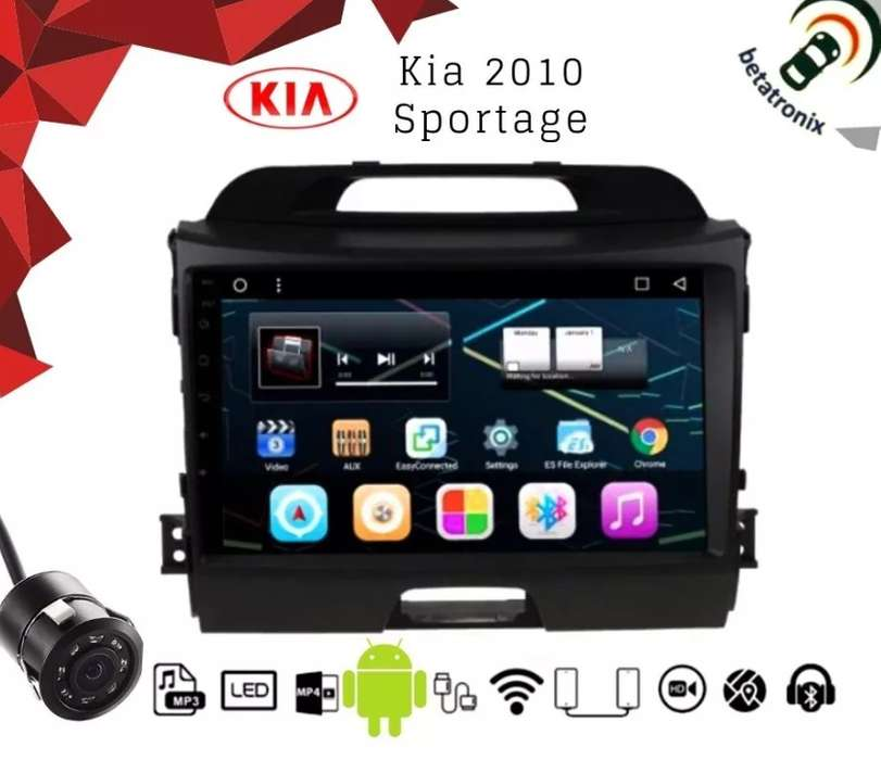 Radio Android Kia Sportage R Gps Wifi Usb Mirrorlink