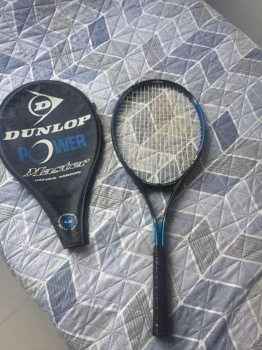 Raqueta de Tenis marca dunlop