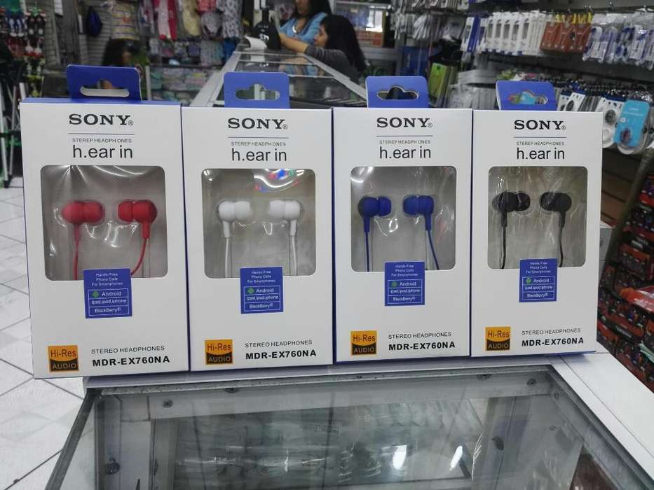 Audífonos <strong>sony</strong>