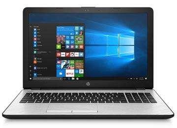 NOTEBOOK HP 15-BS031 INTEL I3-7100U 2.4GHZ 4GB 1TB BLUETOOTH WEBCAM 15.6 PULGADAS PLATEADA WIN10 Y TECLADO EN INGLES