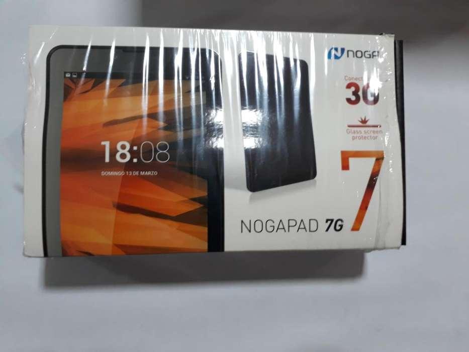 VENDO TABLET NOGA 7 PULGADAS CON 3G NUEVA A ESTRENAR