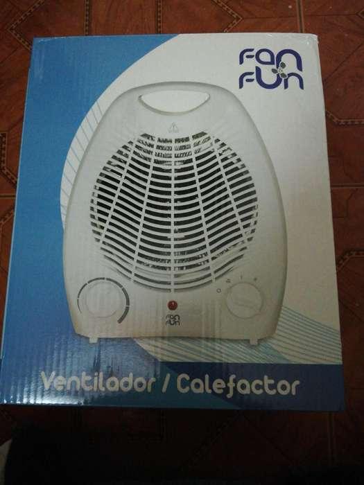 Ventilador Calefactor Nuevo