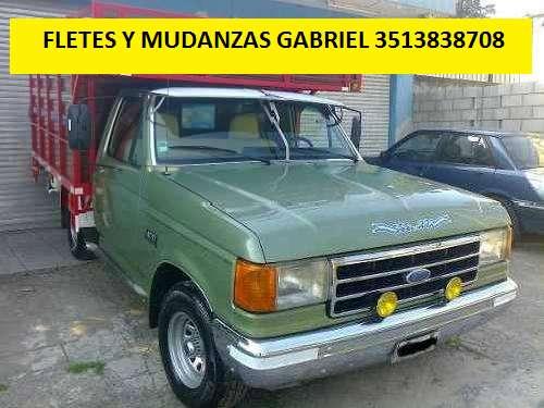 FLETES GABRIEL 3513838708 MÓVILES SIEMPRE DISPONIBLES