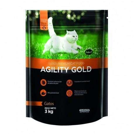 Agility Gold - Gatos Alimento Super Premium