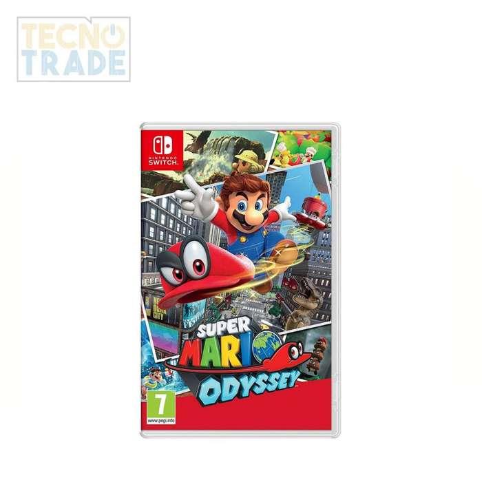 Juego Super Marios Bros odyssey, incluye IVA.