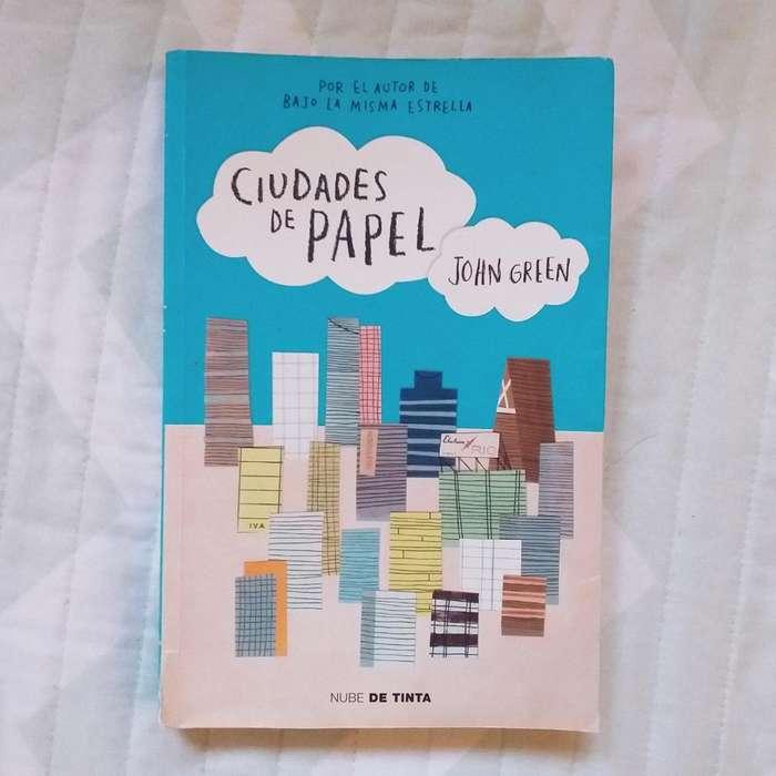 Libro 'ciudades de Papel' de John Green