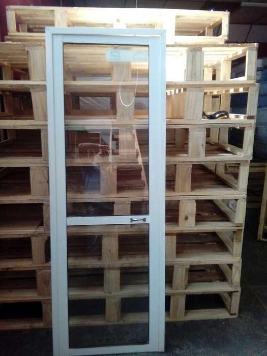 Vendo Puertas de <strong>aluminio</strong> Completa