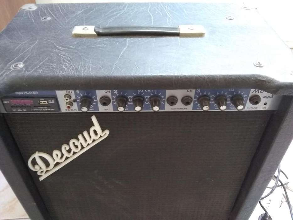 Amplificador Decoud 60 W