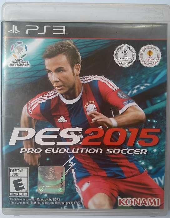Pes 2015 PS3 Fisico