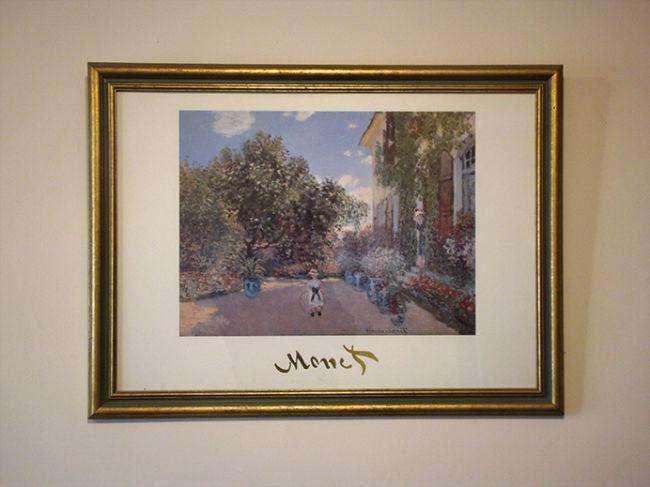 Cuadro: Claude Monet, La Casa del Artista en Argenteuil