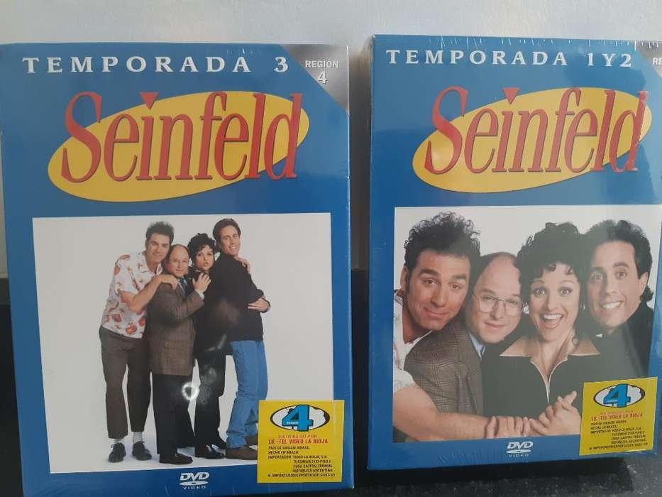 Seinfeld Temporada 1 2 Y 3 Nuevos sin Abrir muy buenos