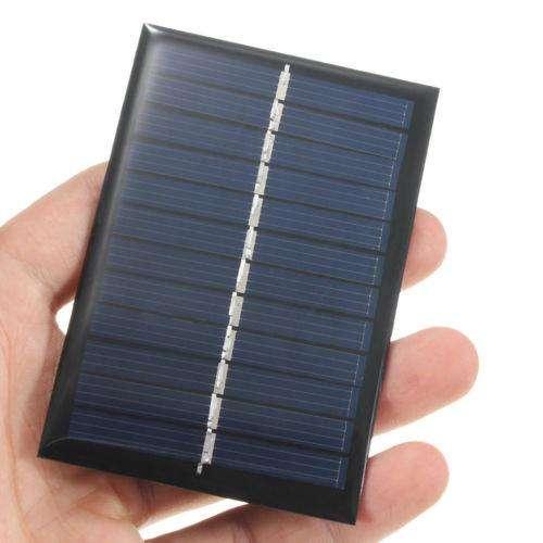 Panel de energía solar de 6V 0.6W Batería Cargador Para Teléfono Celular Hágalo usted mismo Juguete Portátil