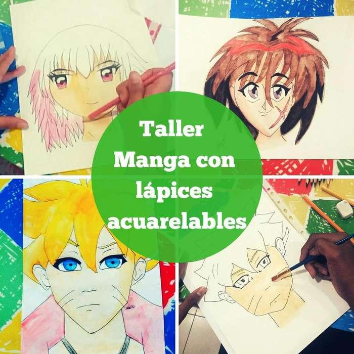 Taller Manga con Lápices Acuarelables