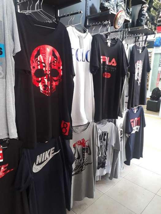Camisetas Grandes Extra